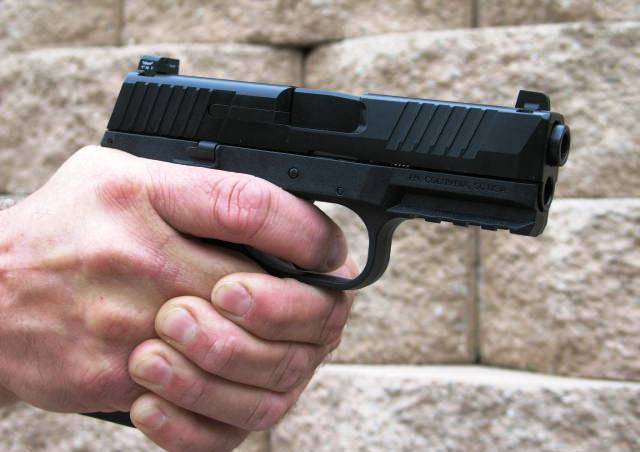 The FN 509 feels great in the hand and shoots very well.