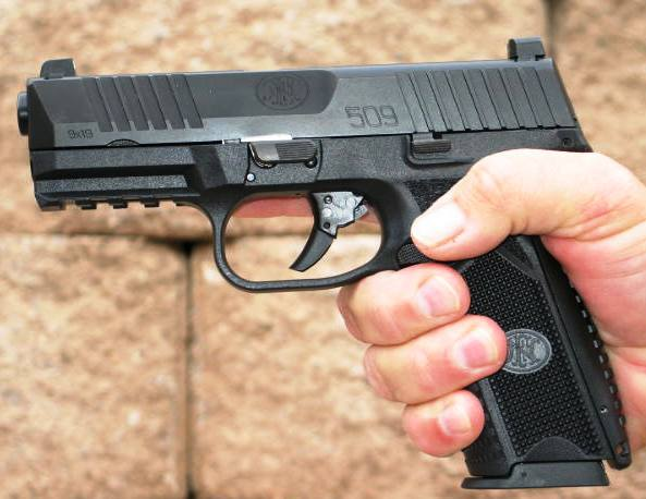 Ambidextrous controls make the 509 a gun for anyone.