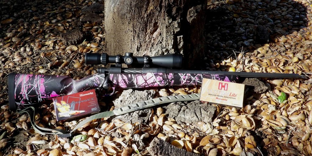 The right rifle, ammo and accessories can make a difference when teaching young hunters.